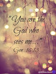 God who sees me